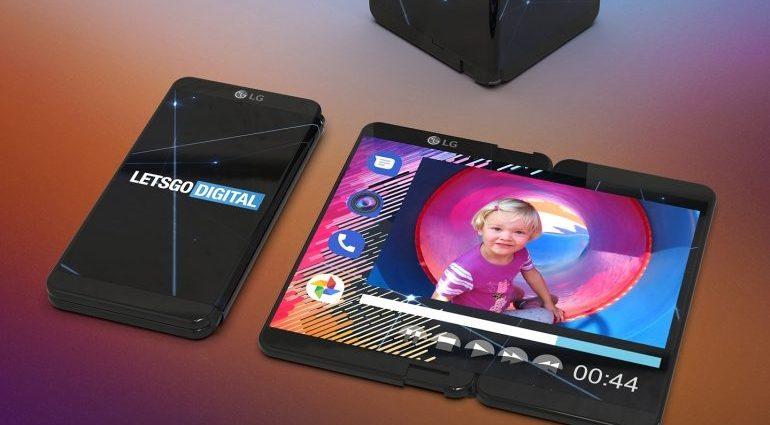 LG predstavuje skladací smartfón