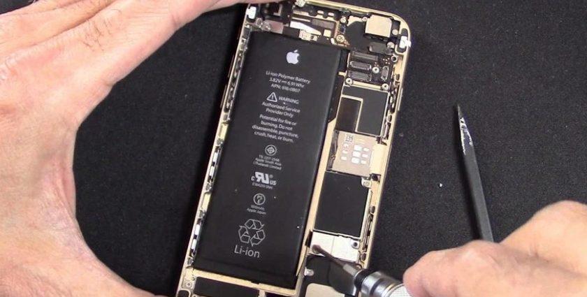 iPhone baterie výměna