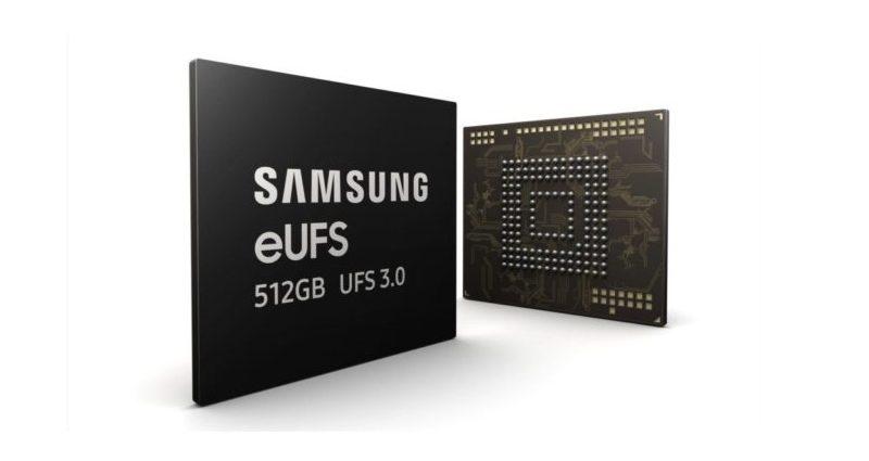 512 GB eUFS 3.0