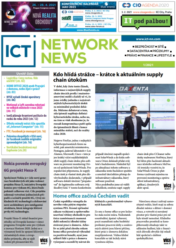 ICT NETWORK NEWS 1-2021
