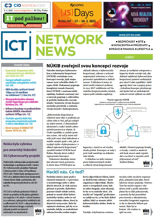 ICT NETWORK NEWS 2-2021